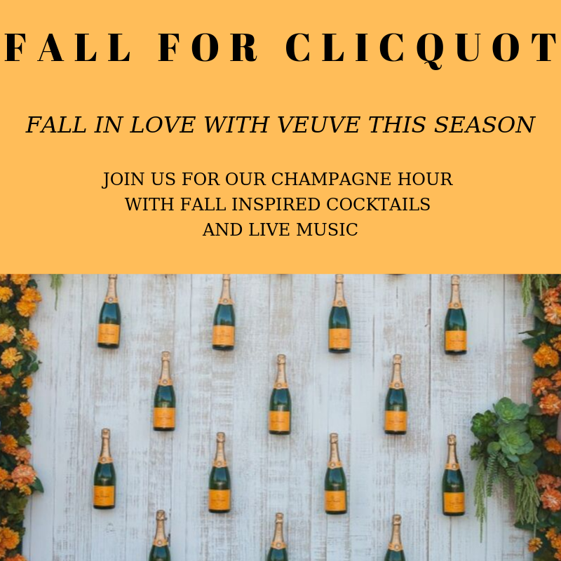 Fall for Clicquot