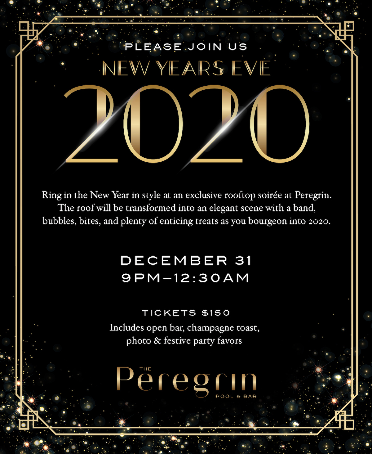 New Year's Eve at Peregrin